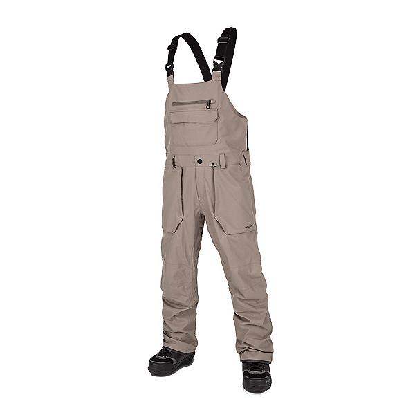 Volcom Roan Bib Overall Mens Snowboard Pants, Teak, 600