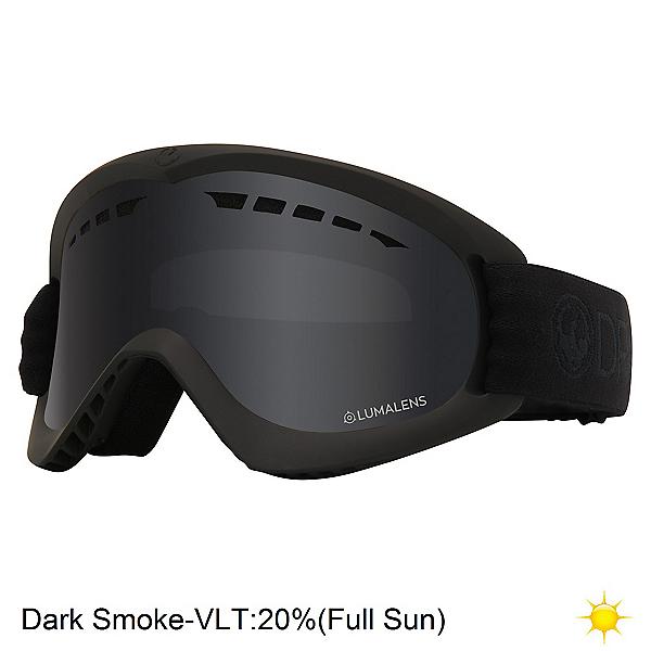 Dragon DX Kids Goggles 2020, Black-Lumalens Dark Smoke, 600