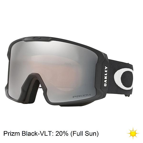 Oakley Line Miner XM Prizm Goggles, Matte Black-Prizm Black Iridiu, 600