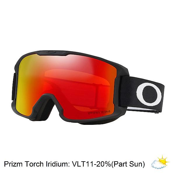 Oakley Line Miner Youth Prizm Kids Goggles, Matte Black-Prizm Torch Iridiu, 600