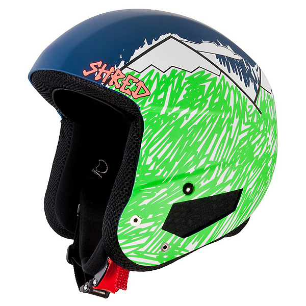 SHRED Brain Bucket Helmet, Needmoresnow, 600