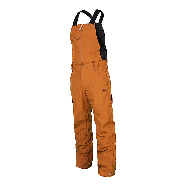 Picture Yakoumo Bib Mens Ski Pants 2019, Brown, 600