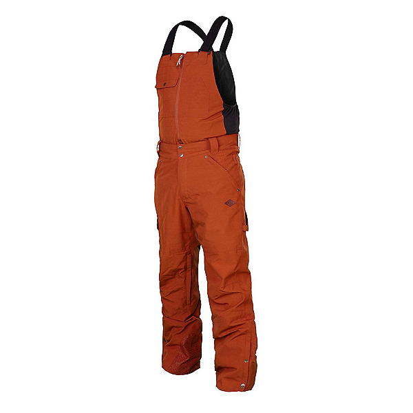 Picture Yakoumo Bib Mens Ski Pants, Brick, 600