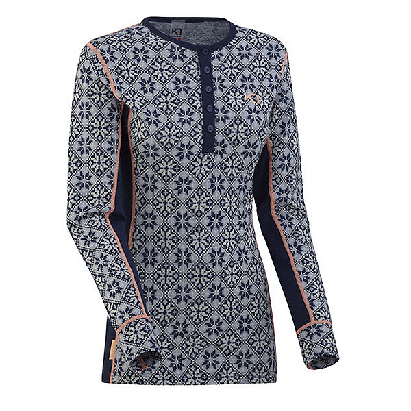 Kari Traa Rose Long Sleeve Womens Long Underwear Top 2020, Calm, 600