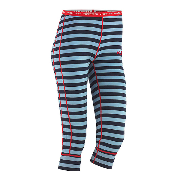 Kari Traa Ulla Capri Womens Long Underwear Pants, Naval, 600