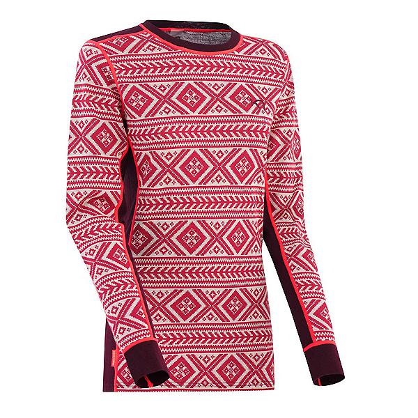 Kari Traa Floke Long Sleeve Womens Long Underwear Top, , 600