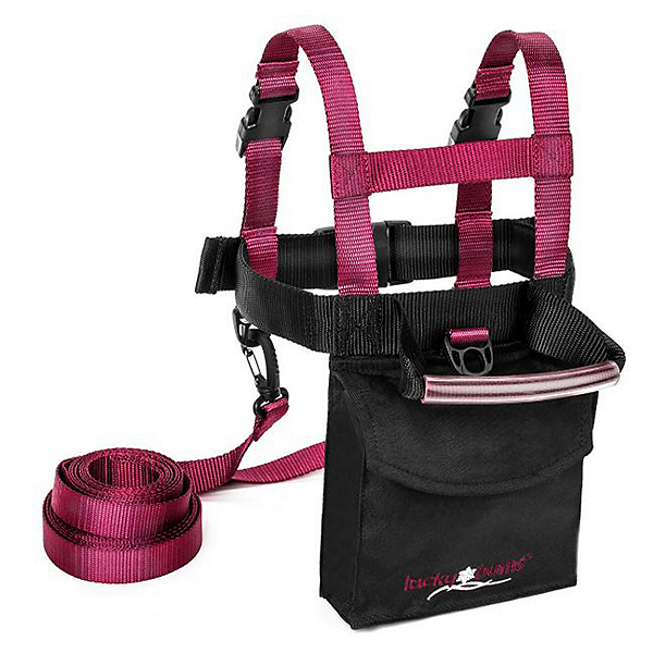 Lucky Bums Fall Line Ski Trainer 2020, Frost Pink, 600