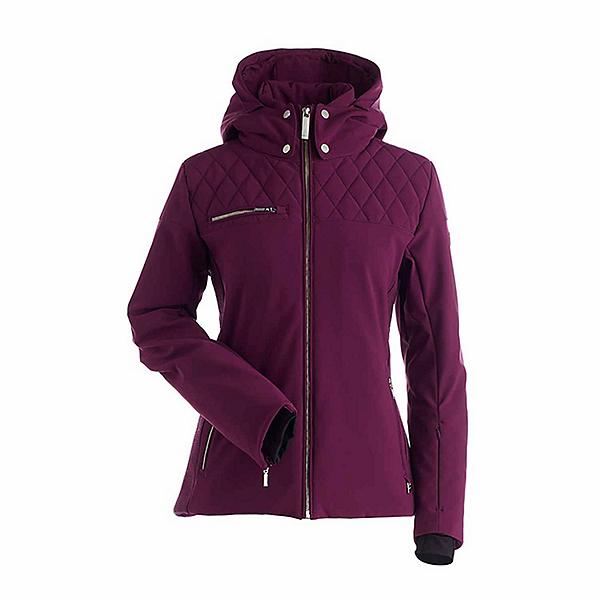 NILS Philippa Womens Insulated Ski Jacket, Plum, 600