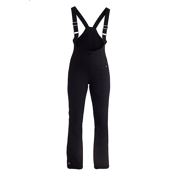 NILS Ethyl Bib Short Womens Ski Pants, Black, 600