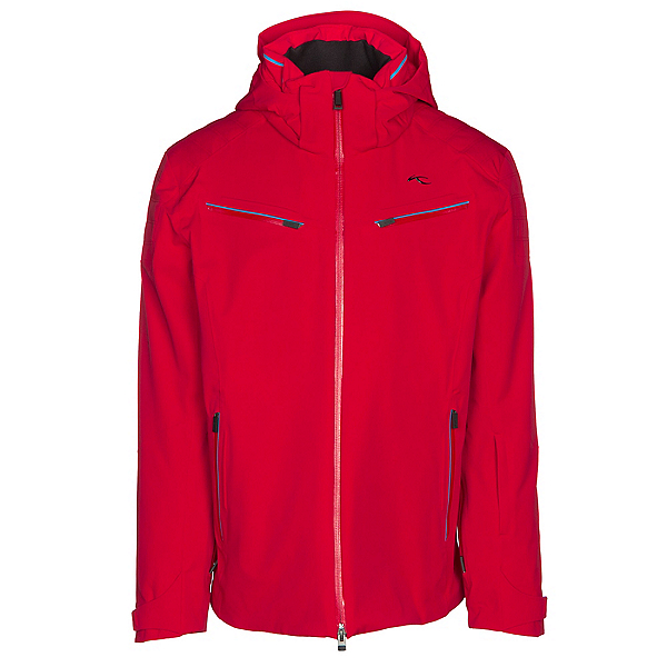 ee02ed54 KJUS Formula Mens Insulated Ski Jacket, Scarlet, 600