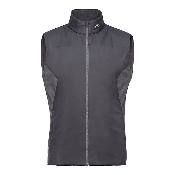 KJUS Radiation Mens Vest, Dark Dust-Steel Grey Melange, 600