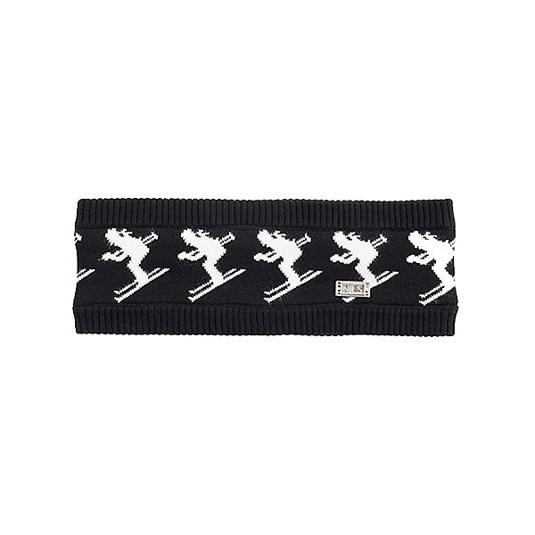 NILS The Skier 2 Womens Headband, Black-White, 600