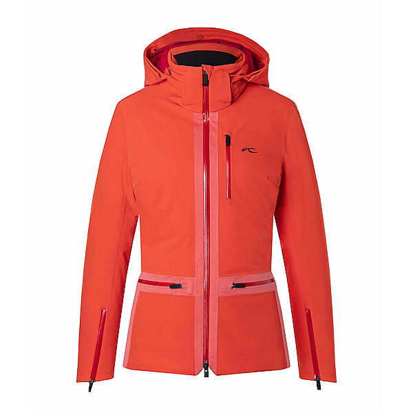 KJUS Nuna Womens Insulated Ski Jacket, Red, 600