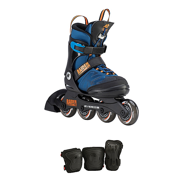 K2 Raider Pro Adjustable Pack Kids Inline Skates 2020, , 600