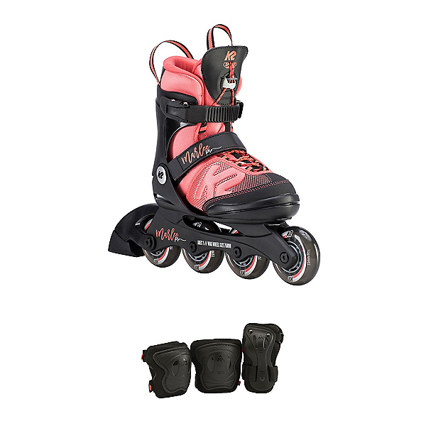 K2 Marlee Pro Adjustable Pack Girls Inline Skates 2019, , 600
