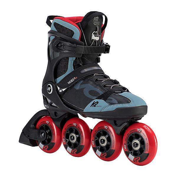 K2 VO2-S 90 Pro Inline Skates 2020, Black-Steel-Red, 600