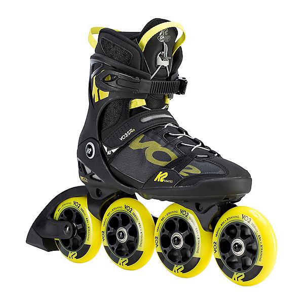 K2 VO2-S 100 Pro Inline Skates 2020, Black-Yellow, 600