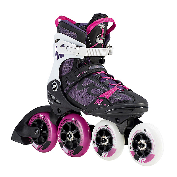 K2 VO2-S 100 X Pro Womens Inline Skates 2020, Black-Purple, 600
