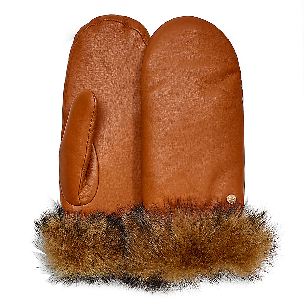 UGG Leather Womens Mitten 2019, , 600