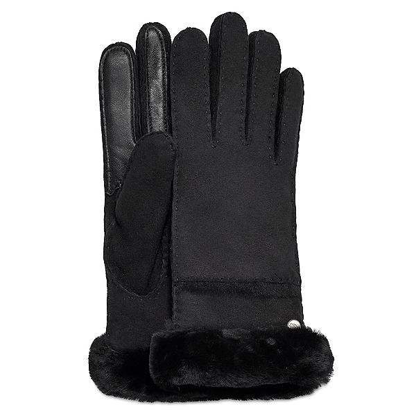 UGG Seamed Tech Womens Gloves, Black, 600