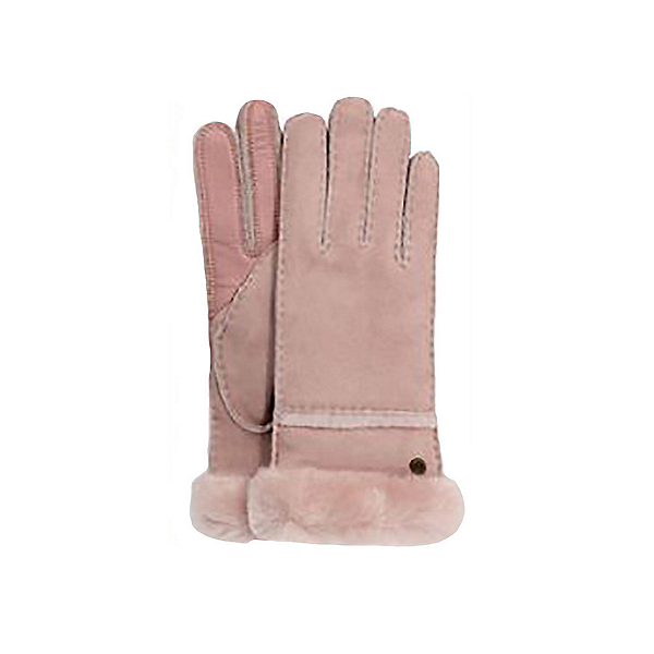 UGG Seamed Tech Womens Gloves 2020, Pink Crystal, 600