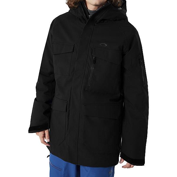 Oakley Snow 15K Mens Insulated Ski Jacket, Blackout, 600