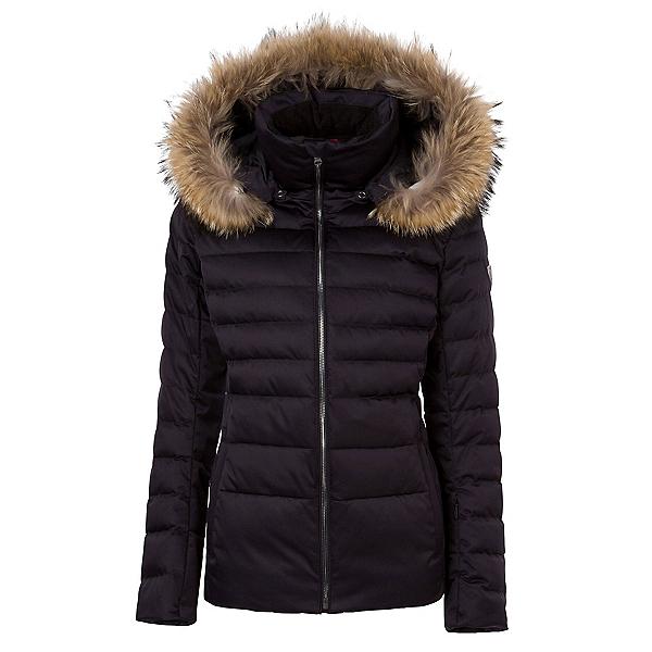 FERA Julia - Real Silver Fox Fur Womens Insulated Ski Jacket, , 600