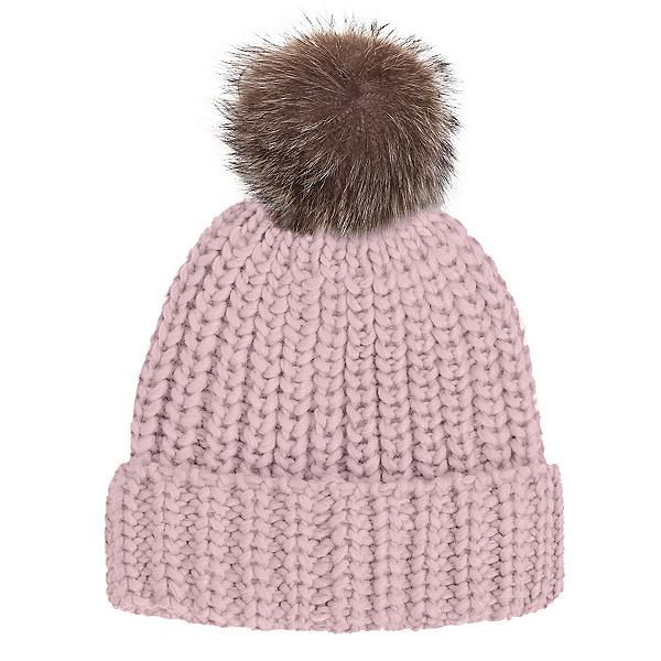 Rella Nostalgia Cuff w Faux Fur Pom Womens Hat 2019 dff783a61