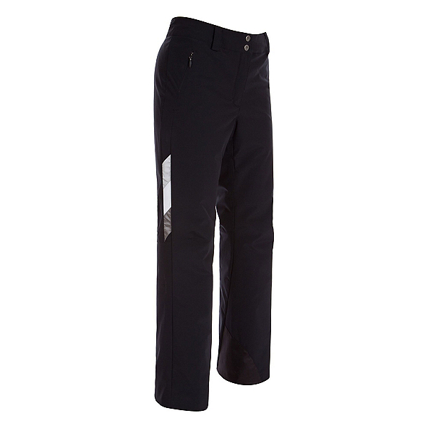 FERA Lucy Tricolor Womens Ski Pants 2019, Black-Silver-White, 600
