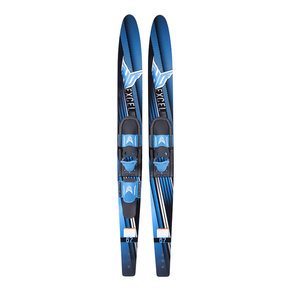 HO Sports Excel Combo Water Skis With Horseshoe Bindings 2020 im test