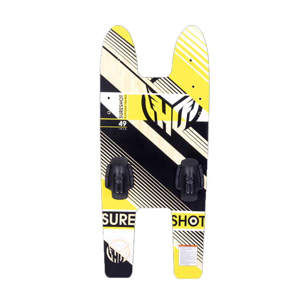 HO Sports Sure Shot Platform Trainer Junior Combo Water Skis With Bindings 2020 im test