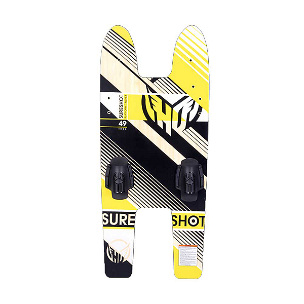 HO Sports Sure Shot Platform Trainer Junior Combo Water Skis With Bindings 2019, , 600