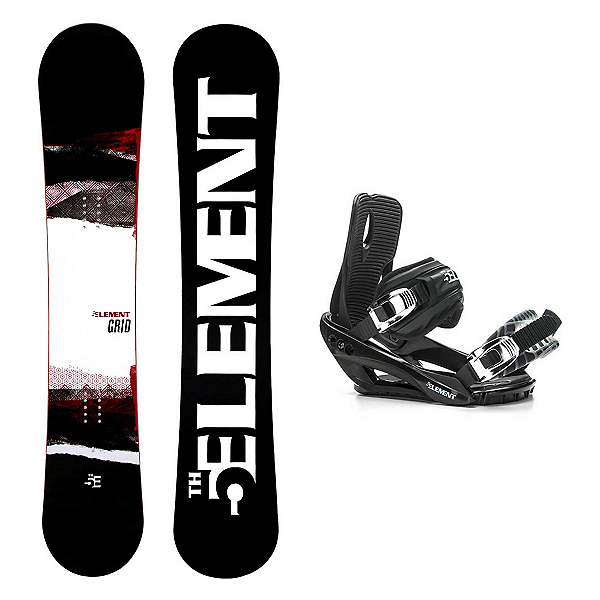 5th Element Grid Stealth 3 Snowboard and Binding Package 2020, , 600