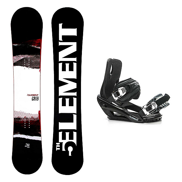 5th Element Grid Wide Stealth 3 Snowboard and Binding Package 2020, , 600