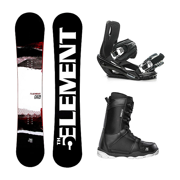 5th Element Grid ST-1 Complete Snowboard Package 2020, , 600