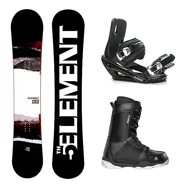 5th Element Grid Wide ST-1 Complete Snowboard Package 2020, , 600