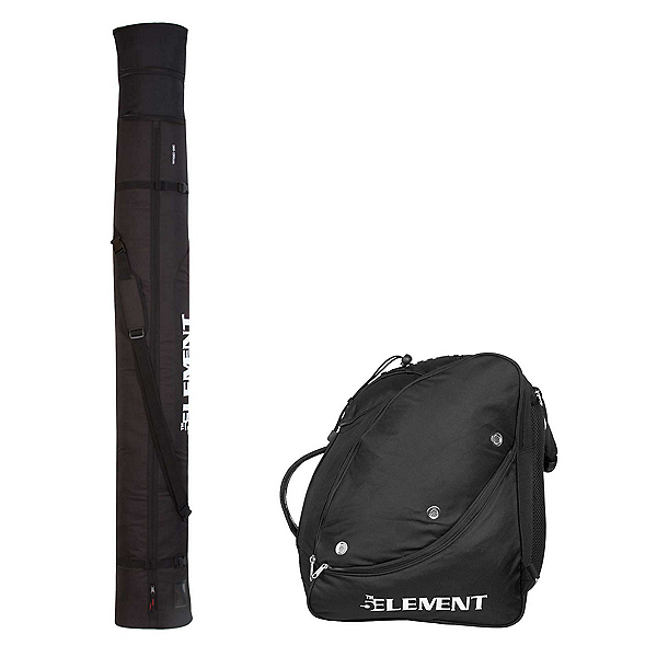 5th Element Single Travel Pack, Black-Silver, 600