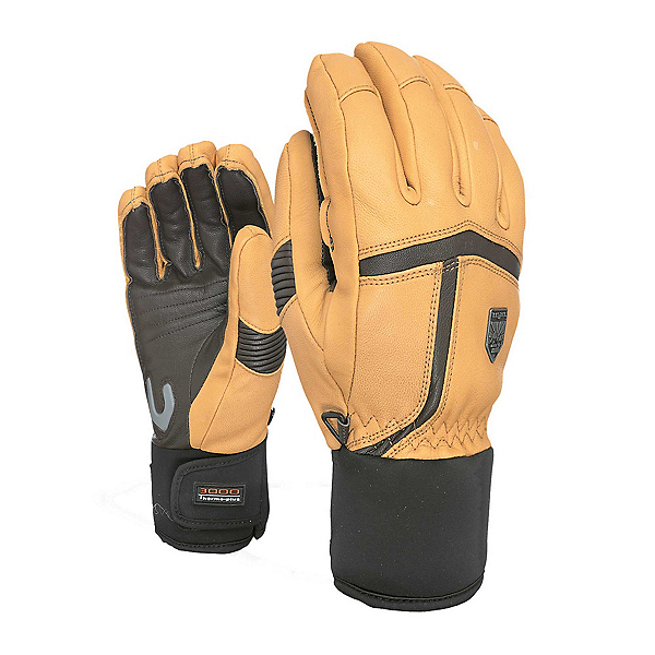 Level Off Piste Leather Gloves, , 600