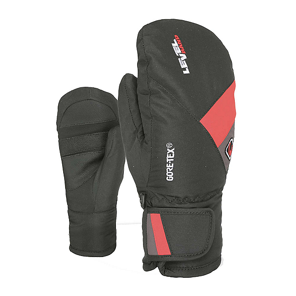Level Force GORE-TEX Kids Mittens 2020, Red, 600