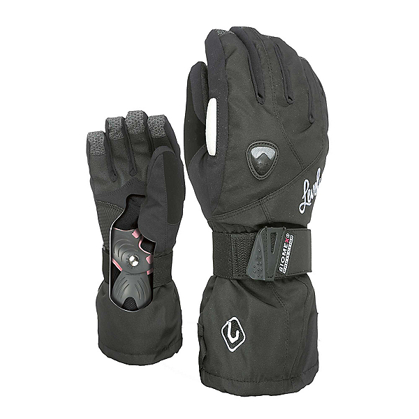Level Butterfly Womens Gloves, Black, 600