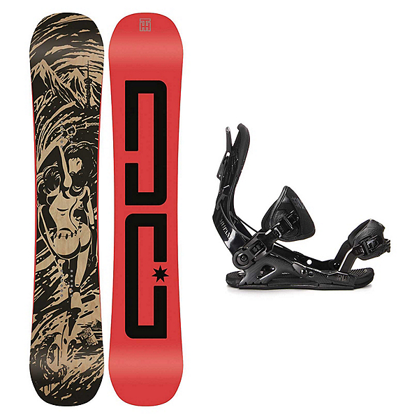 DC Media Blitz Mutant Snowboard and Binding Package, , 600
