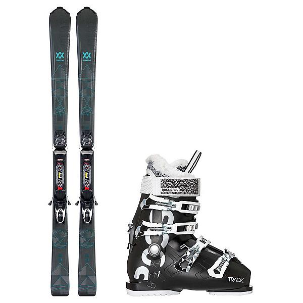 Volkl Flair 8.0 Track 70 Womens Ski Package, , 600