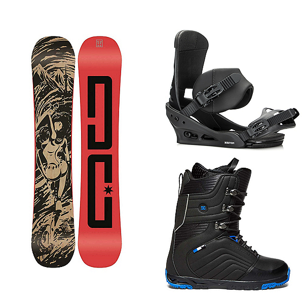 DC Media Blitz Scendent Complete Snowboard Package, , 600