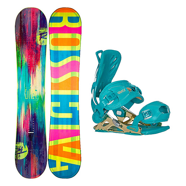 Rossignol Diva LF B-Free Womens Snowboard and Binding Package, , 600
