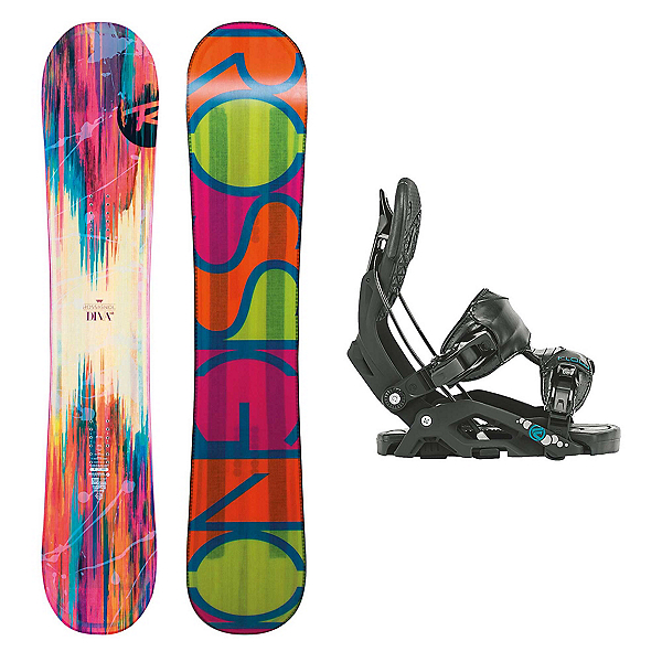 Rossignol Diva MagTek Juno Womens Snowboard and Binding Package, , 600