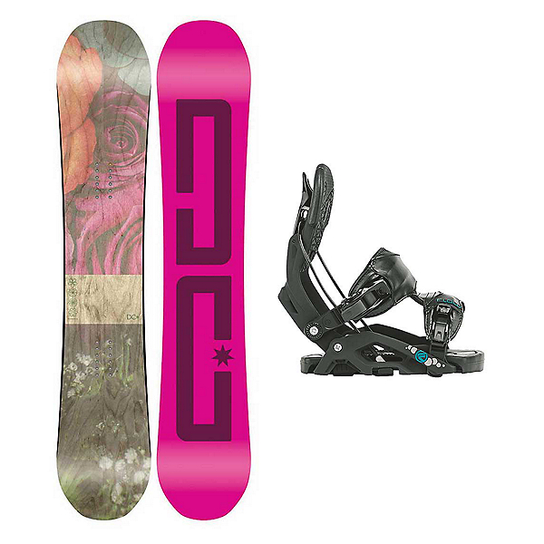 DC Telegraph Juno Womens Snowboard and Binding Package, , 600