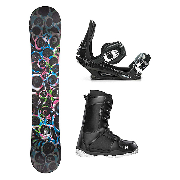Drake DF1 ST-1 Complete Snowboard Package, , 600