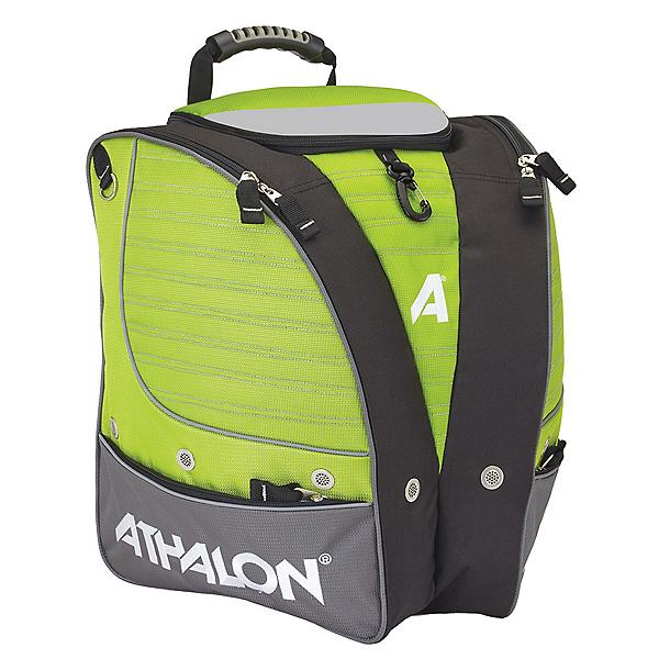 Athalon Triathalon Ski Boot Bag 2020, Lime-Gray, 600
