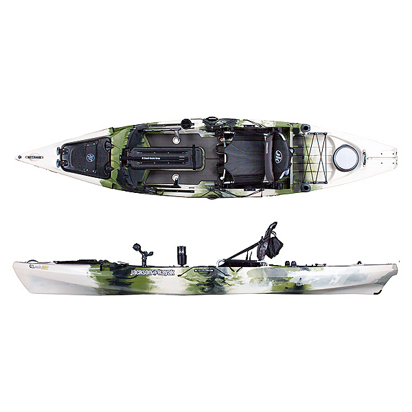 Jackson Kayak Cuda HD Kayak, Forest, 600
