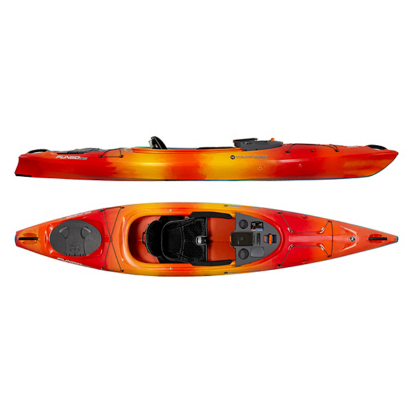 Wilderness Systems Pungo 120 Kayak 2019, Mango, 600